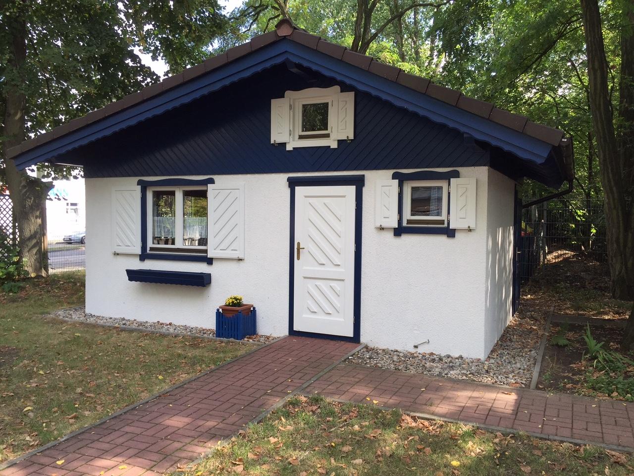 Gartenh user wendt haus - Gartenhaus isoliert ...
